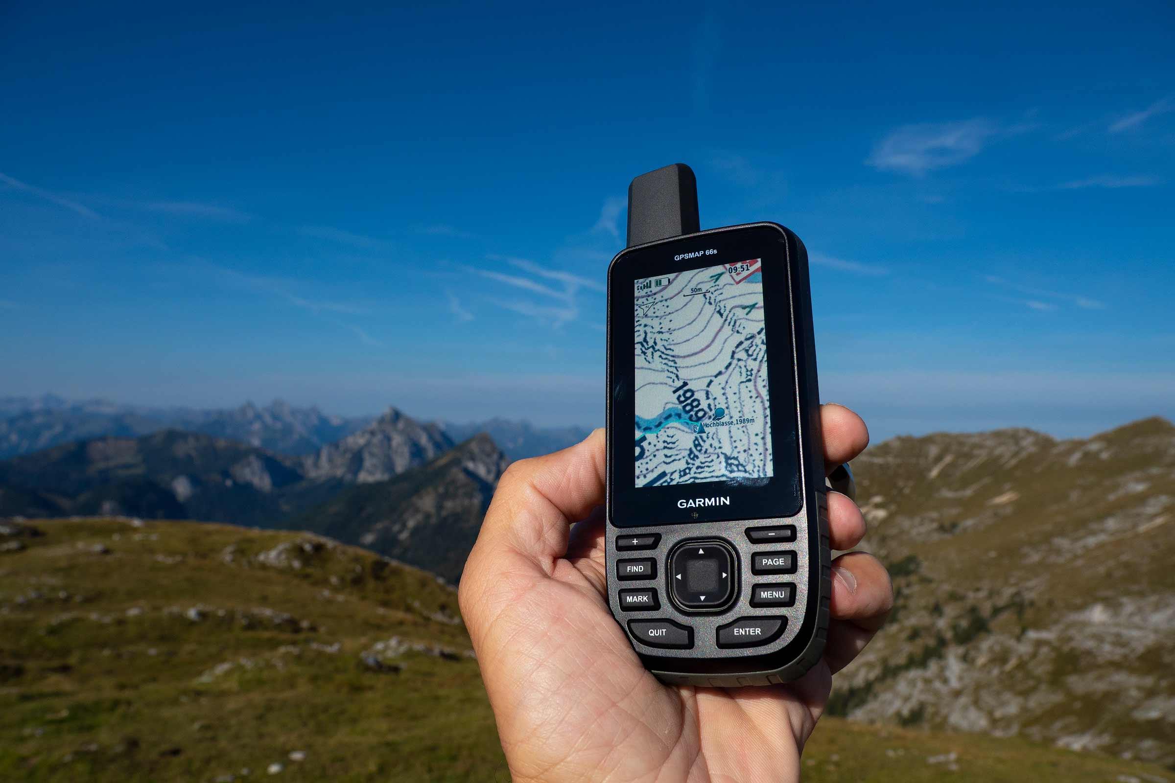Garmin GPSMAP 66s и 66st