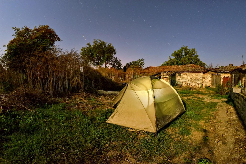 БГ места за палатки