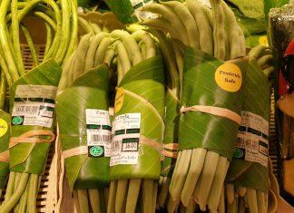 Бананови листа вместо опаковка
