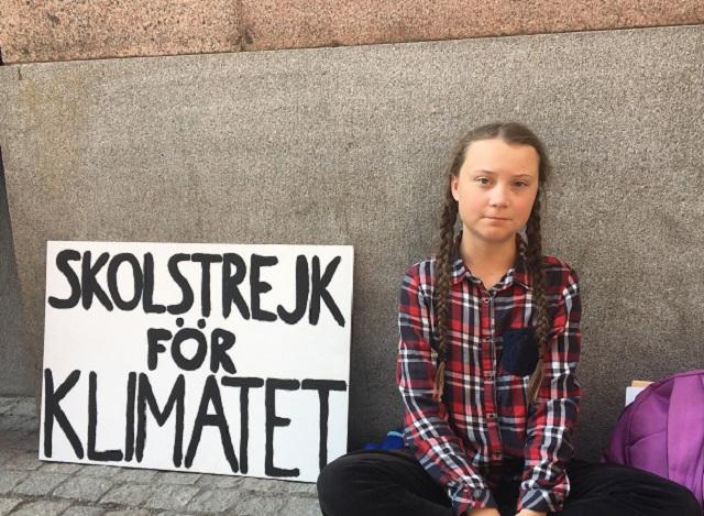 Грета за климата