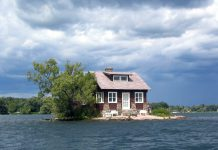 най-малкият обитаем остров