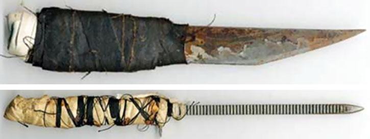 Нож от подръчни материали