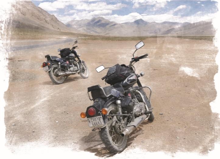 С мотор през Хималаите