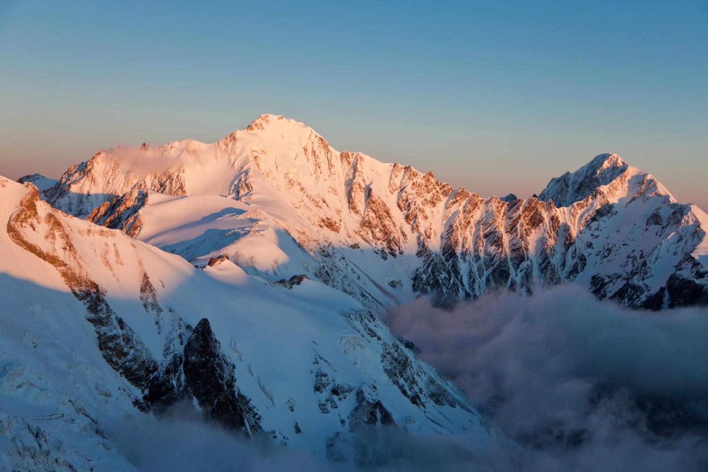 най-високите върхове на европа