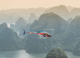 Заливът Халонг с хеликоптер