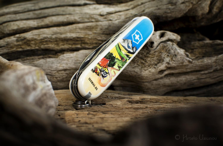 дизайнерско ножче на Victorinox и 360