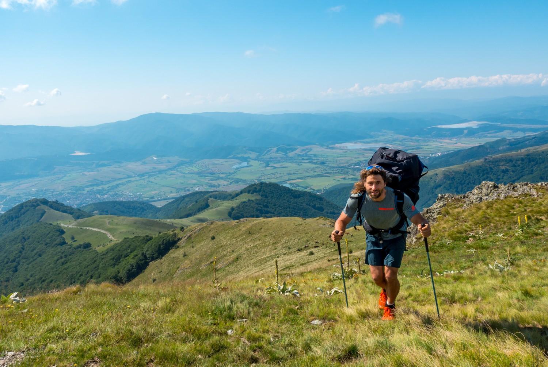 Антоан Жирар по склоновете на Стара планиан снимка: Теодора Величкова