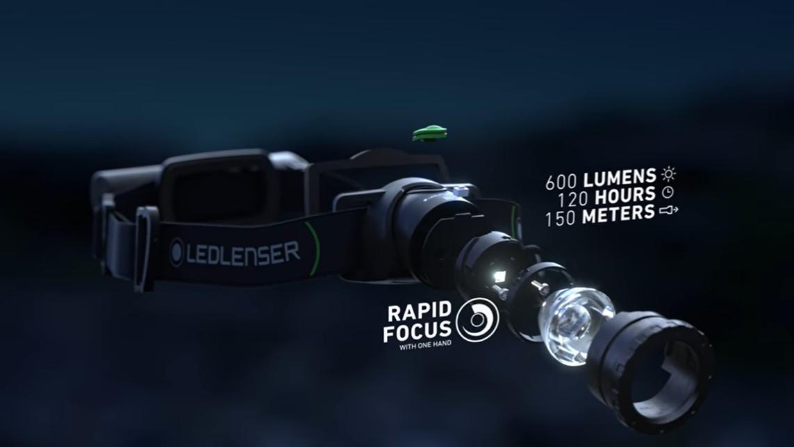 Челник LED LENSER MH10