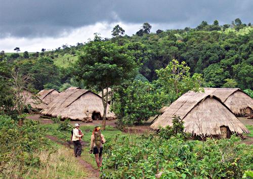селище бунонг коренни народи