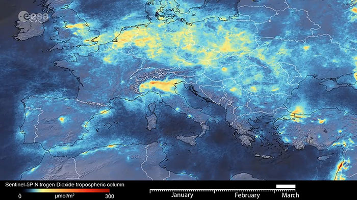 Европа през Март, след епидемията от Коронавирус