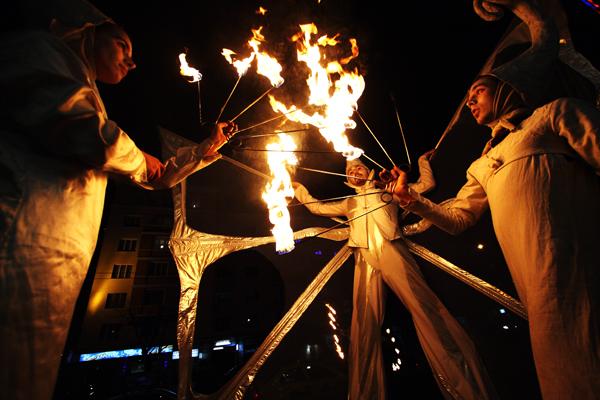 Fireter - театър на огъня и сенките