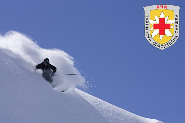 Вероятността за оцеляване на затрупан в лавина в зависимост от времето на престой под снега