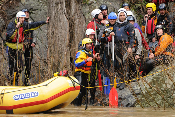 rafting course