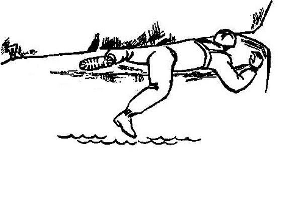 Фигура 2. Движение в хоризонтални цепнатини