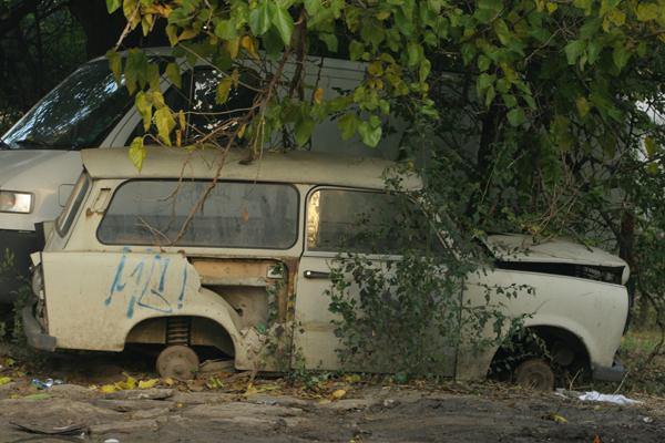 Рециклиране на стари автомобили