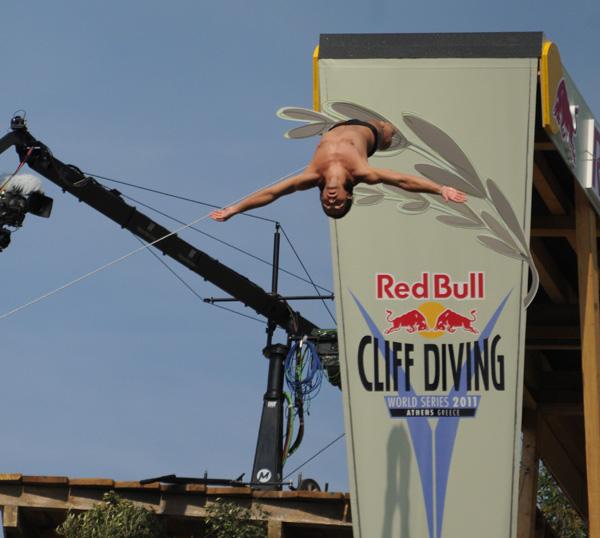 Скока на Тодор - 21.05 - Red Bull Cliff Diving в Атина