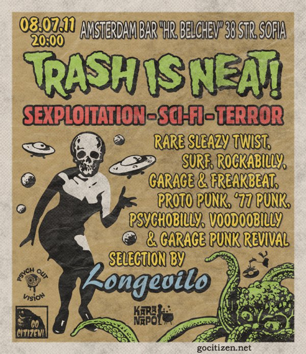 Go Citizen presents: TRASH IS NEAT! - A Stunning Bash