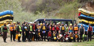 Рафтинг и каяк сезон 2012 - река Струма, Кресна
