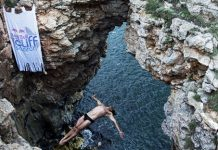 Red Bull Cliff Search - Day 3 - Cavedive Todor Spasov