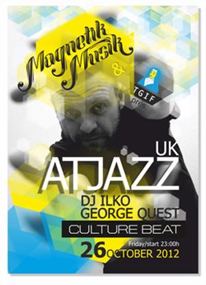 На 26 октомври в Culture Beat гостува ATJAZZ