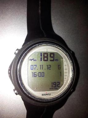 На 7.11.2012 год. в района на Атина на около 5 мили от брега, Росен Желязков се спусна до дълбочина от 189м. Дълбочината е отчетена от SUUNTO D9tx - 189м и от Uwatec Bottom Timer - 193м.