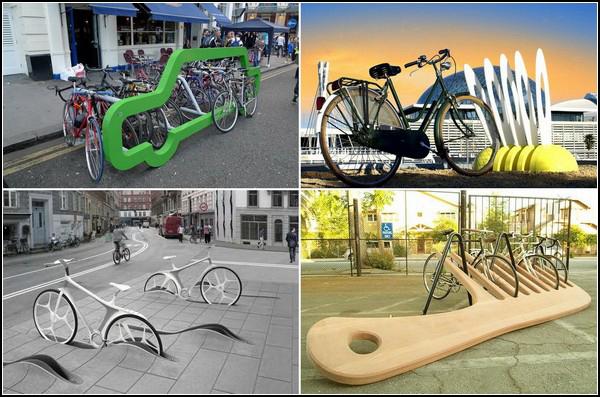 Нестандратни паркоместа за велосипеди
