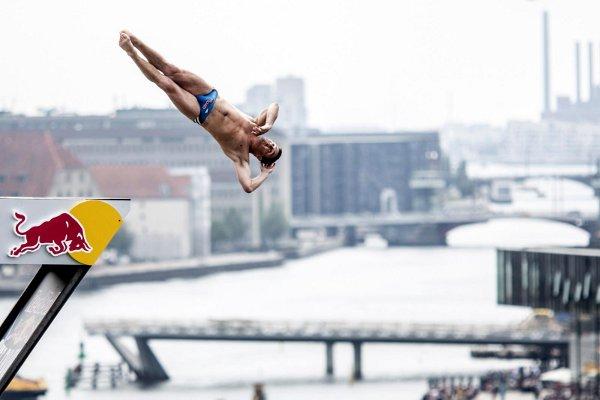 Cliff Diving Denmark