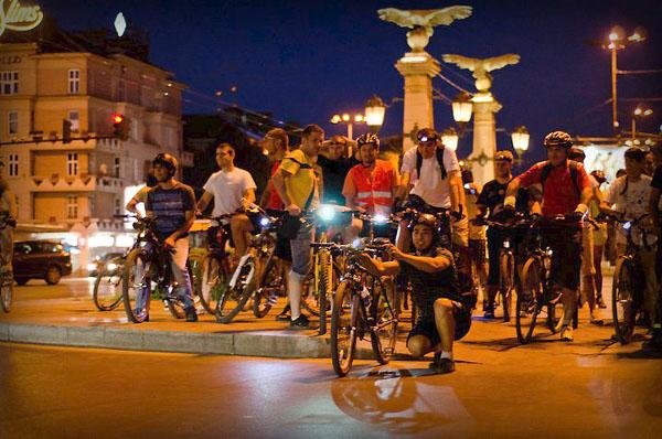 35-та велоразходка из нощна София