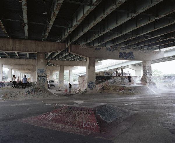 Самоделните скейт паркове
