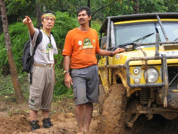 На снимката вляво - Луис Уий, създател и организатор на RFC