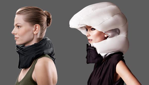 """""""Невидимата"""" колоездачна каска за глави и прически"""