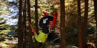 Видео от фрийрън теста на надуваеми снегоходки до Черни връх
