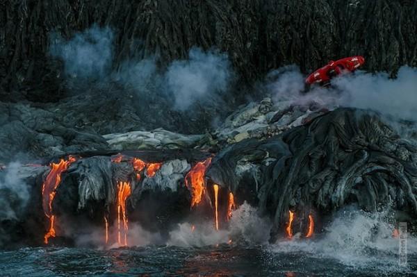Екстремно-вулканичен каяк в Хавай