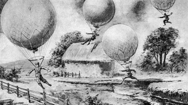 Скачане с балони – футуристичният спорт от миналото