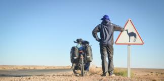 С колело между Атласките планини