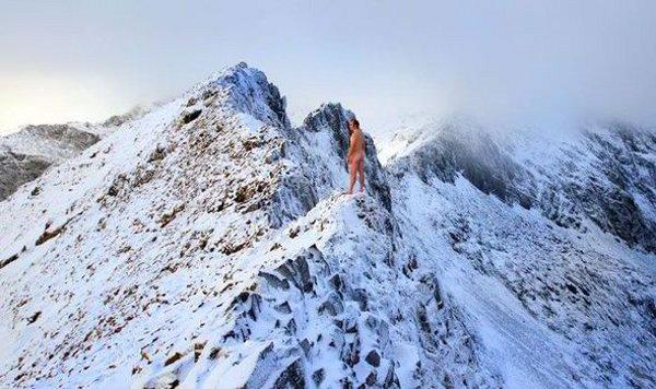 Гол, нощен алпинизъм в Уелс