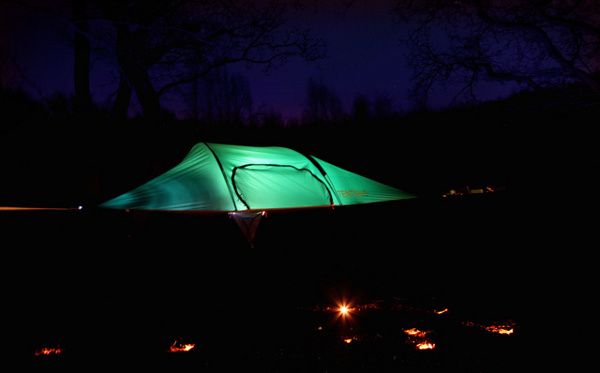 Нововъведението висящи палатки