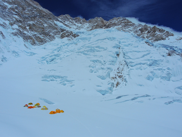 Лагер 1, 6300 м