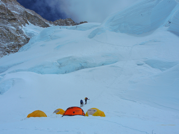 Лагер 2, 7000 м