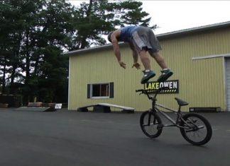 BMX паркур с Тим Нол