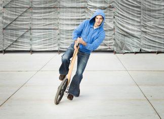 Създателите на Half bike за иновативното полуколело