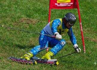 Със ски по… тревата