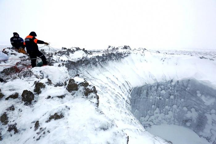 Ледена дупка в Сибир