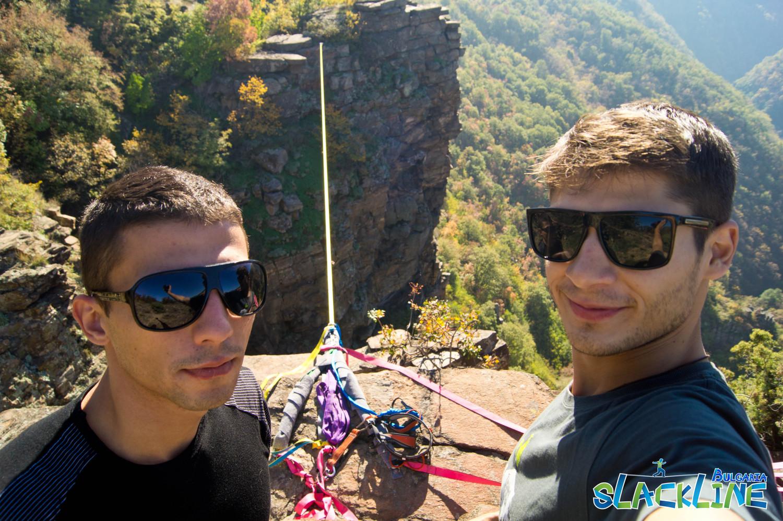 Първият български хайлайн в Родопите