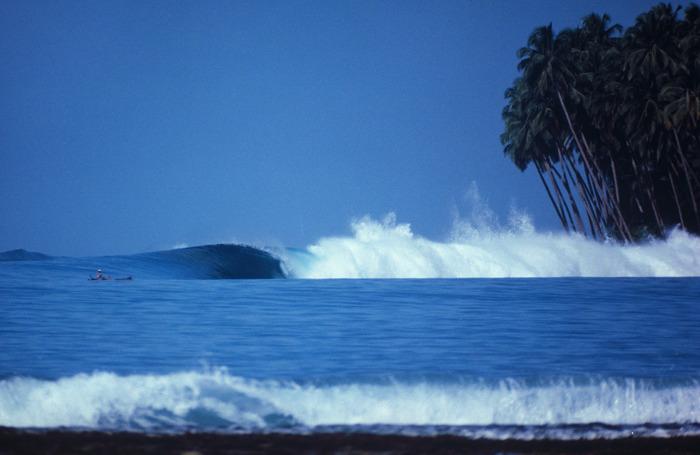 Първата снимка на острова публикувана през 1978 г.
