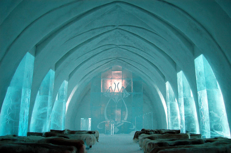 The Ice Hotel в Швеция