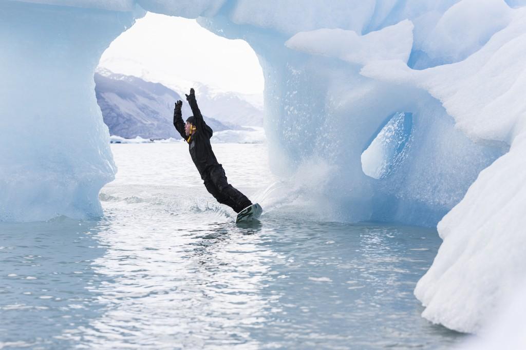 Уейкборд и ледници