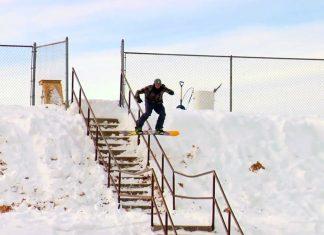 Нинджите идват със сноуборд премиера на MAYDAY!