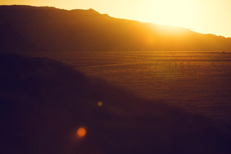 Залез в Намибия