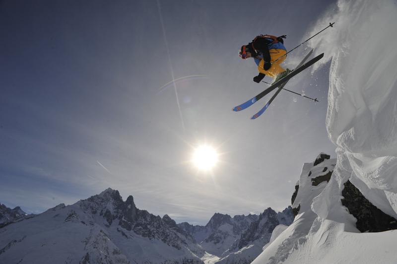 Dynastar Cham 117 skiing 01